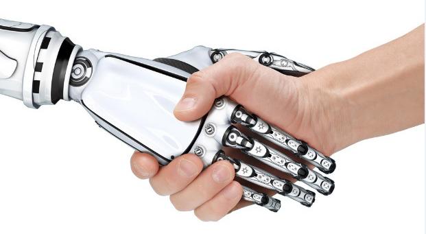 Robotter-hilser-menneske